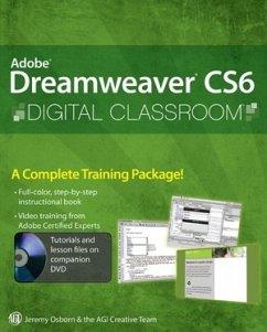 Adobe Dreamweaver CS6 Digital Classroom [With DVD ROM]
