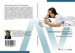 9783639409277 - Donna N. Losciuto Lane: Educational Value of E-textbooks - Buch