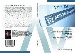9783639408775 - Paul Bucchi: Customizing Internet Marketing - Buch