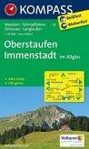 Kompass Karte Oberstaufen, Immenstadt im Allgäu