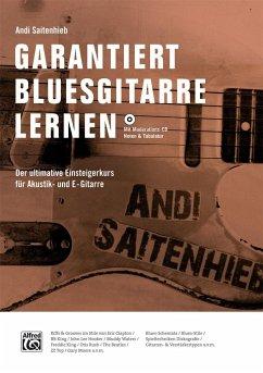 Garantiert Bluesgitarre lernen, m. MP3-CD