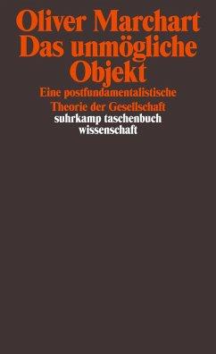 Das unmögliche Objekt - Marchart, Oliver
