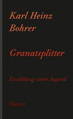 Granatsplitter - Bohrer, Karl Heinz