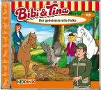 Der geheimnisvolle Falke / Bibi & Tina Bd.72 (1 Audio-CD)