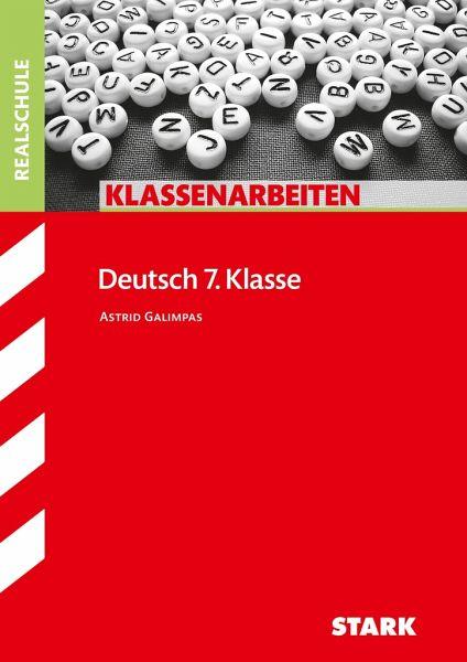 klassenarbeiten deutsch realschule 7 klasse von astrid awad schulb cher portofrei bei b. Black Bedroom Furniture Sets. Home Design Ideas