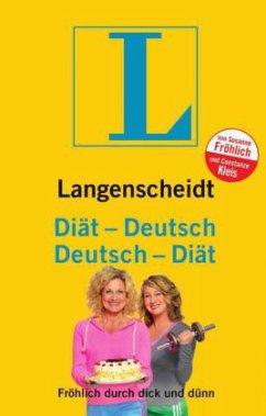 Langenscheidt Diät-Deutsch / Deutsch-Diät - Fröhlich, Susanne; Kleis, Constanze