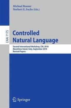 Controlled Natural Language
