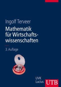 Mathematik für Wirtschaftswissenschaften - Terveer, Ingolf