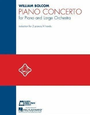 Piano Concerto: Piano Reduction for 2 Pianos, 4 Hands