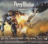 Der Administrator & Der erste Thort / Perry Rhodan - Neo Bd.17+18 (2 MP3-CDs)