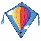 Invento 100051 - Eddy: Hot Air Balloon, Kinderdrachen, 68 cm