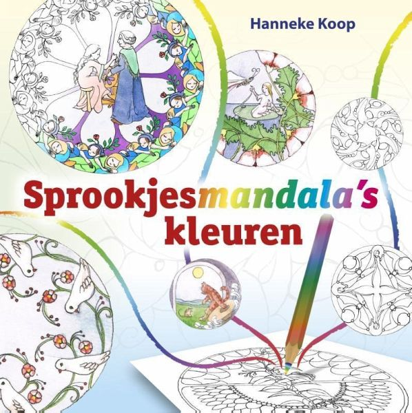 Sprookjesmandalas kleuren von hanneke koop taschenbuch for Hanneke koop interieur
