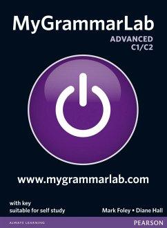 MyGrammarLab Advanced with Key and MyLab Pack - Foley, Mark;Hall, Diane