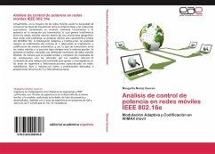 Análisis de control de potencia en redes móviles IEEE 802.16e