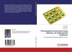 Chronopharmaceutical drug delivery of Salbutamol Sulphate