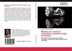 Modelo de contacto neumático-calzada a baja velocidad