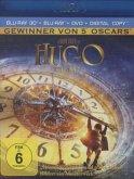 Hugo Cabret 3D Blu-ray 3D + 2D + DVD + Digital Copy
