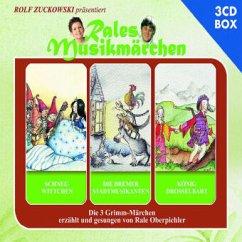 Schneewittchen, Die Bremer Stadtmusikanten, König Drosselbart, 3 Audio-CDs - Oberpichler, Rale