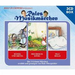 Hänsel und Gretel, Der Froschkönig, Frau Holle, 3 Audio-CDs - Grimm, Wilhelm;Grimm, Jacob