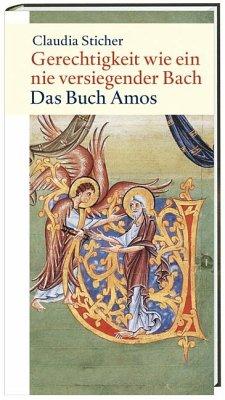 Gerechtigkeit wie ein nie versiegender Bach - Sticher, Claudia