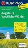 Kompass Karte Augsburg - Westliche Wälder