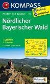 Kompass Karte Nördlicher Bayerischer Wald