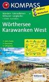 Kompass Karte Wörthersee, Karawanken West