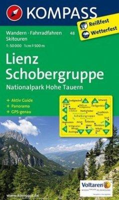 KOMPASS Wanderkarte Lienz - Schobergruppe - Nationalpark Hohe Tauern