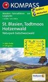 Kompass Karte St. Blasien, Todtmoos, Hotzenwald. Naturpark Südschwarzwald
