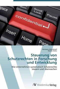 Steuerung von Schutzrechten in Forschung und Entwicklung - Mohnkopf, Hermann; Klotz, Martin
