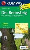 Kompass Karte Der Rennsteig - Von Hörschel bis Blankenstein