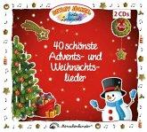 Detlev Jöckers 40 schönste Advents- und Weihnachtslieder, 2 Audio-CDs