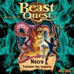 Necro, Tentakel des Grauens / Beast Quest Bd.19 (1 Audio-CD)