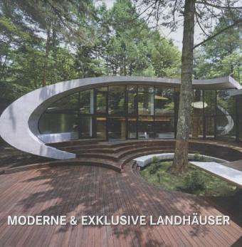 moderne exklusive landh user buch b. Black Bedroom Furniture Sets. Home Design Ideas