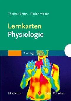 Lernkarten Physiologie - Braun, Thomas; Weber, Florian