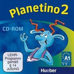 Deutsch für Kinder.Deutsch als Fremdsprache, 1 CD-ROM / Planetino Bd.2