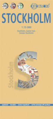 Borch Map Stockholm