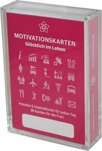 Glücklich im Leben - Motivationskartenset für Frauen als positive Impulsgeber zur Selbstfindung und Inspiration