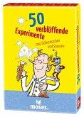 50 verblüffende Experimente zum Selbermachen und Staunen (Experimentierkasten)