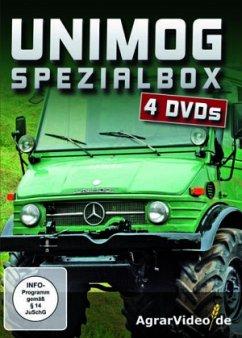 Unimog Spezialbox, 4 DVDs