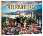 Nürnberg von oben - Tag & Nacht