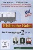 Rhätische Bahn, Die Reisezugwagen. Tl.2, DVD-ROM