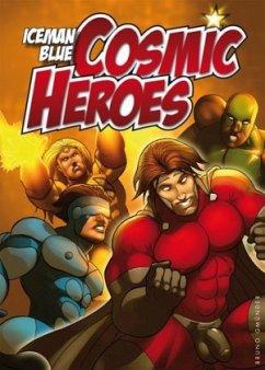 Cosmic Heroes - Iceman, Blue