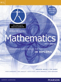 Pearson Baccalaureate Higher Level Mathematics second edition print and ebook bundle for the IB Diploma - Wazir, Ibrahim; Garry, Tim