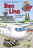Ben und Lina am Flughafen Köln / Bonn