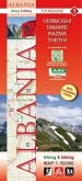Albania hiking & biking 1:50000, 9 Teile