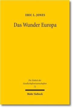 Das Wunder Europa - Jones, Eric L.