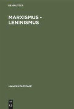 Marxismus - Leninismus