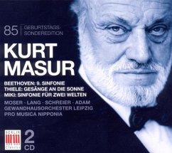 Kurt Masur-85 Geburtstags-Sonderedition - Masur,Kurt/Gewandhausorchester Leipzig/+