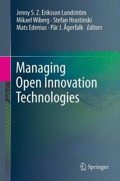 Managing Open Innovation Technologies
